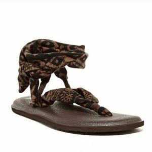 Sanuk Shoes - Sanuk Slinged Up Yoga Mat Sandals Tribal