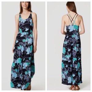 LOFT maxi dress NWOT
