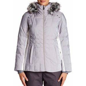 Gerry Weber Jackets & Blazers - Julia Shimmer Jacket With Faux Fur Trim