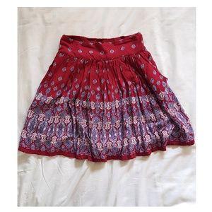 Dresses & Skirts - Boho Red Skirt