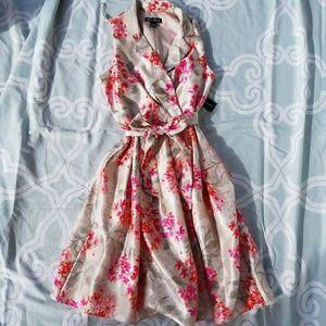 Jessica Howard Dresses & Skirts - Jessica Howard Sleeveless Floral Dress 12