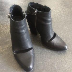 Joe's Jeans Shoes - Joe Jeans black cut out bootie