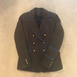 LAVEER double breasted wool jacket