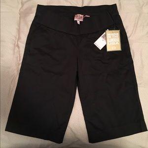 Juicy Couture, Black Bermuda Shorts (Size 28)