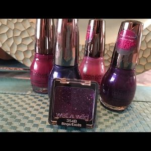 Sinful Other - 5 nail polishes, 1 eye shadow
