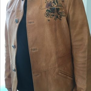 Other - Leather Gucci Jacket