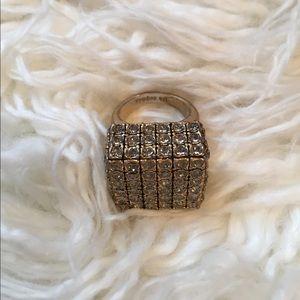 Lia Sophia Jewelry - Lia Sophia block ring size 7-8