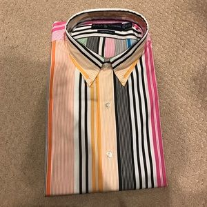 NWT Men's Ralph Lauren Striped button down