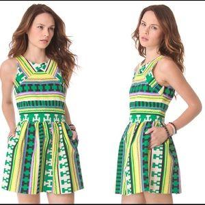 MSGM Dresses & Skirts - Tribal print dress size small!