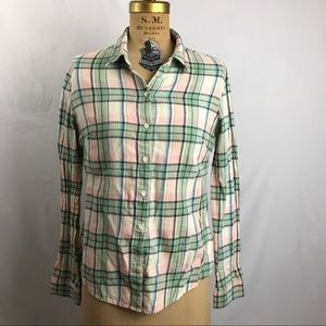 James Perse Pastel Button Down