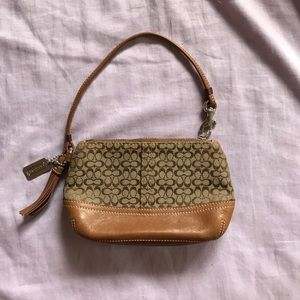 Coach Handbags - Small Coach Wristlet