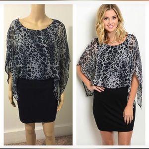 Dresses & Skirts - NWT small animal print dress