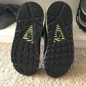 Nike Shoes - Air Max Neon Green and black size 7 Nike