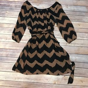 Lily Rose Dresses & Skirts - Lily Rose - Chevron Dress.