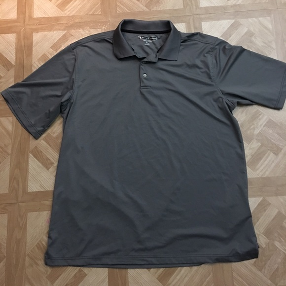 84 off pebble beach other pebble beach gray golf for Custom dry fit polo shirts