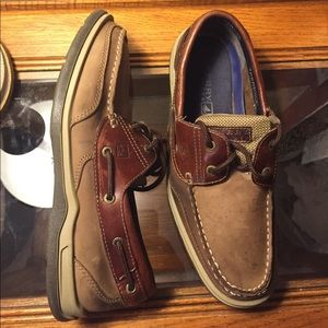 Sperry Top-Sider Other - Men's Sperry Top-Sider Leather Upper Shoe Size 10