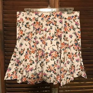 Floral Stretchy Skirt
