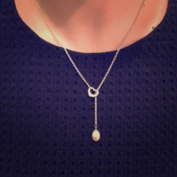 bd70a62d0 Tiffany & Co. Jewelry | Tiffany And Co Elsa Peretti Open Heart ...
