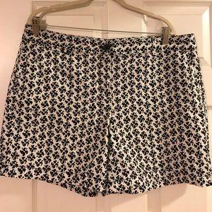 "Loft Printed 6"" Inseam Shorts"