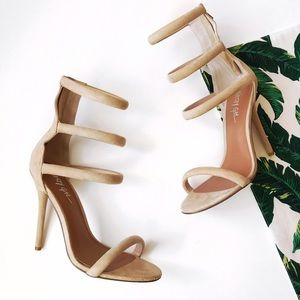 ➡Nasty Gal Natural On a Level Heel⬅