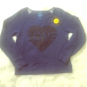 NWT Love Terry Pullover Sweatshirt by Life Is Good