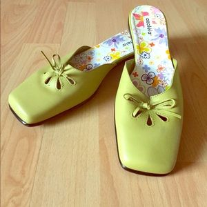 Shoes - Azaléia Summer Flats in Tropical Lime - never worn