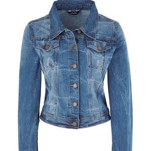 Simply Be Jackets & Blazers - Destructed Denim Jacket
