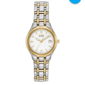 Citizen Accessories - Citizen Eco-Drive Womens Two-Tone Watch