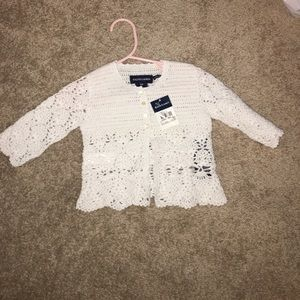 Ralph Lauren Other - Ralph Lauren hand crocheted sweater - 9M