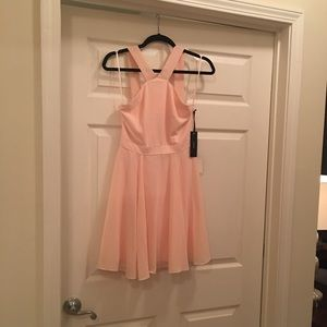 4273e09c8e Lulu s Dresses - Lulu s Forevermore Peach Skater Dress