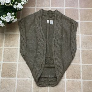 Anthropologie Jackets & Blazers - Size Small Olive Green Anthropologie sweater vest