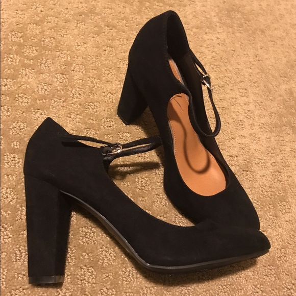 Mari A Shoes - New Mari A black Mary Jane pumps heels