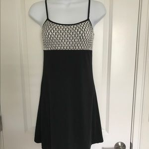 Dresses & Skirts - Little Black Dress Mini Skirt & Silver Top SMALL