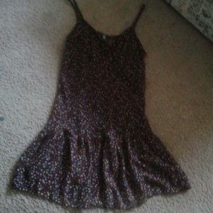 Dresses & Skirts - Sheer purple tank dress
