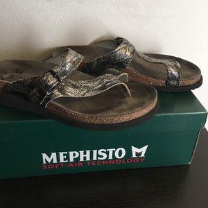 Mephisto Shoes - Mephisto flip flops