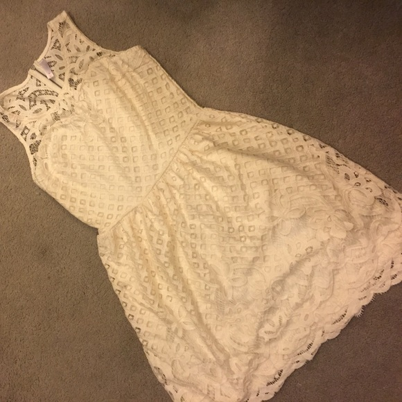 how to make a lace dress