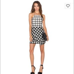 NWT: NBD Sz small Eternal day dress lace up back