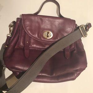 Halogen Handbags - Halogen Purple Handbag Shoulder bag Crossbody