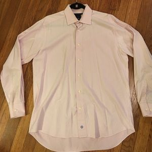 David Donahue Other - David Donahue Pink Stripe dress Shirt 16 34x35