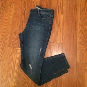 Boden Denim - Boden Distressed Ankle Zip Jeans