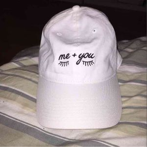 Accessories - Me + you eyelash dad hat