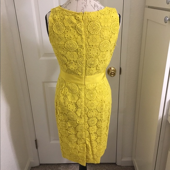 Boden nwt yellow boden lace crochet dress size 8 from for Boden yellow