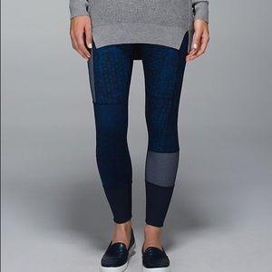 lululemon athletica Pants - Lululemon Wunder Under Sashiko Patchwork Pants