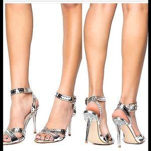 cape robbin Shoes - 🇺🇸 SALE❗️5⭐️ Silver Metallic Sandal