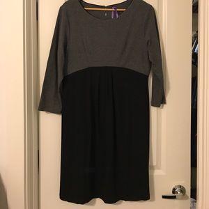Seraphine Dresses & Skirts - Gray and Black Seraphine Maternity Dress