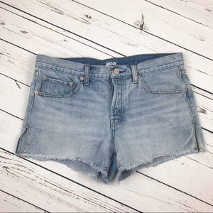 Urban Outfitters BDG Mid Rise Frayed Shorts