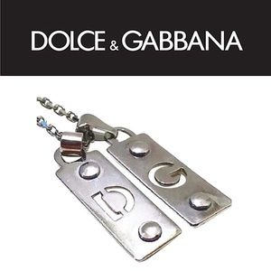 Authentic Dolce Gabbana DG Letter Charm Necklace