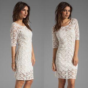 Velvet Dresses & Skirts - Lily Aldridge for Velvet Crochet Dress