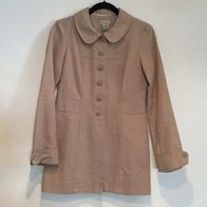 Anthropologie Jackets & Blazers - Adorable lightweight Size 4 Anthropologie coat