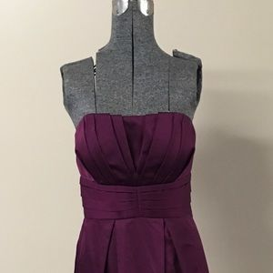 Max & Cleo Dresses & Skirts - Burgundy Wine Long Evening Gown Prom Size 4
